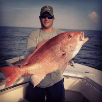 huge red snapper fishing in louisiana