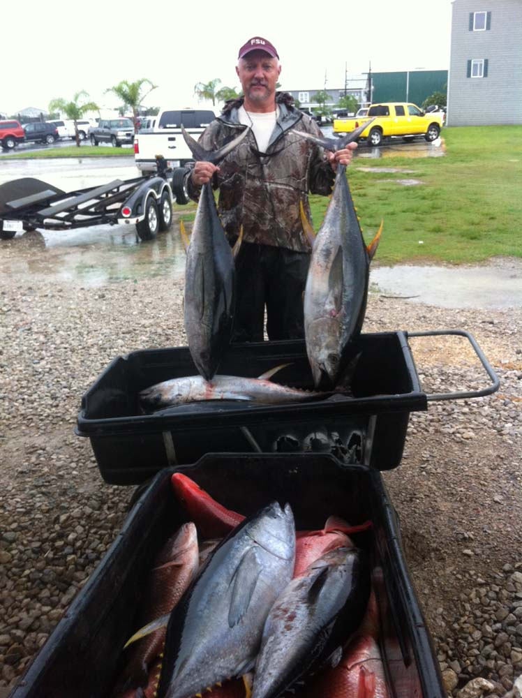 Tuna speckled trout fishing in venice louisiana autos post for Louisiana fishing charters
