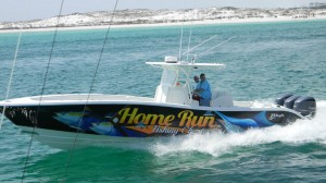 Yellowfin Fishing Boat Home Run Charters Venice LA