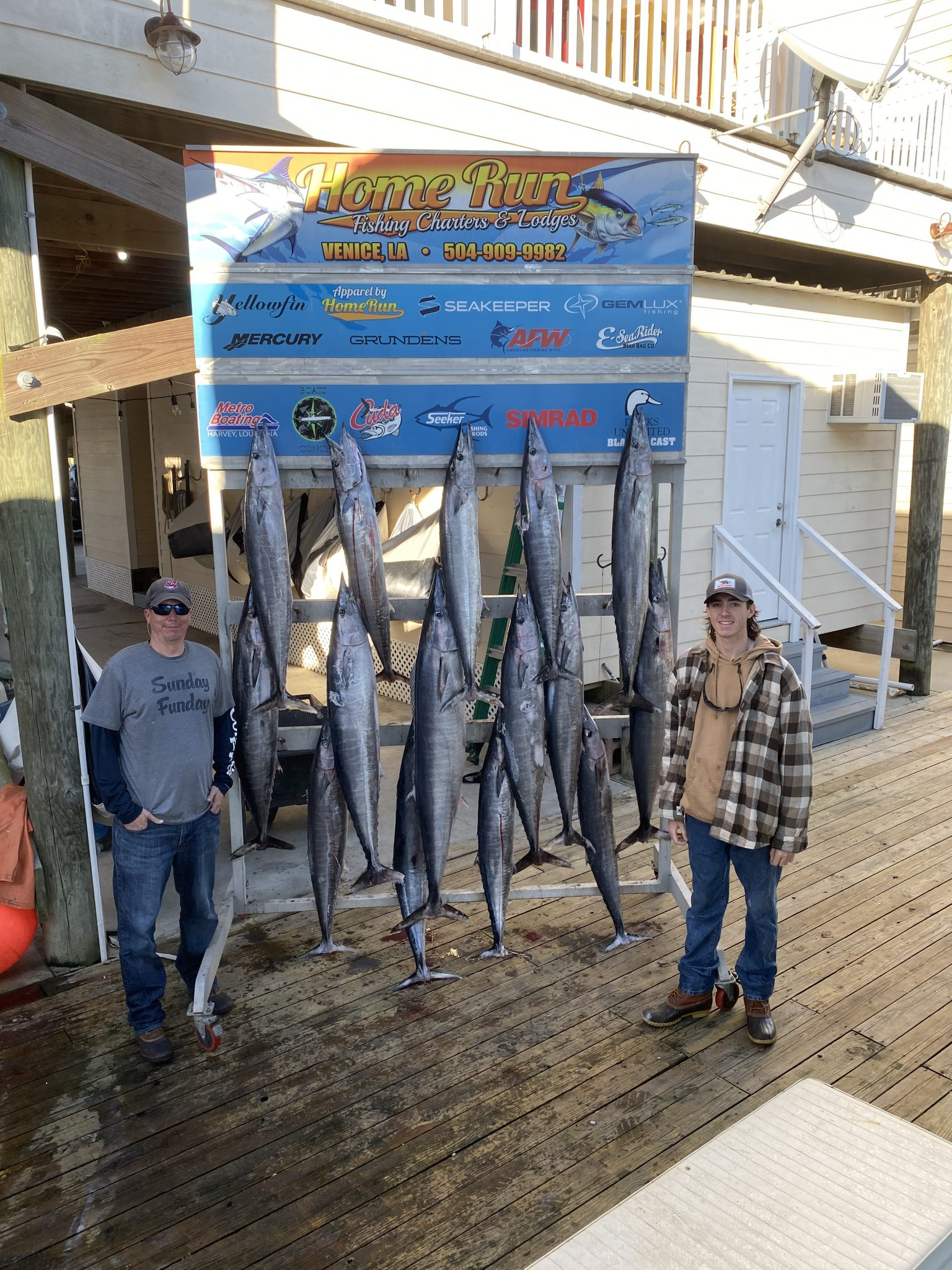 fishing report December 2019 - January 2020